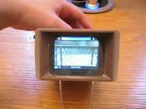 DIY iPod Nano Video Enlarger