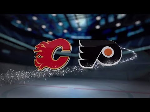 Calgary Flames vs Philadelphia Flyers - Nov. 18, 2017 | Game Highlights | NHL 2017/18.Обзор матча