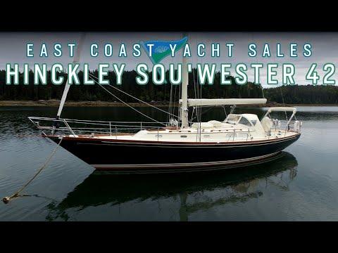 Hinckley Sou'wester 42- SOLD East Coast Yacht Sales