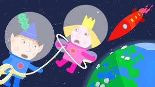 Ben and Holly's Little Kingdom | Fly to the Moon | 1Hour | HD Cartoons for Kids