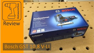 Review Bosch GST 10,8 V-LI (12V) ausführlicher Test (Funktionen und erste Schnitte)