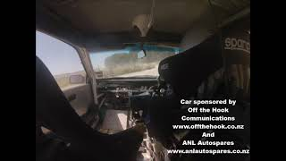 Supercharged Nissan Pulsar at Tangoio Rd gravel sprint 21 February 2021