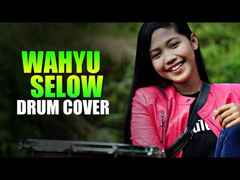 Wahyu - Selow Drum Cover By Nur Amira Syahira