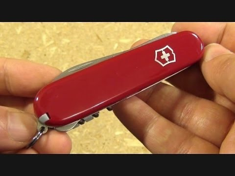 "Victorinox Compact Swiss Army Knife, ""A Little Bit of Everything"""