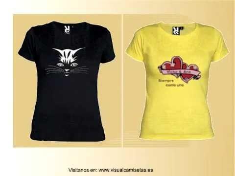 camisetas personalizadas visualcamisetas.es para mujeres