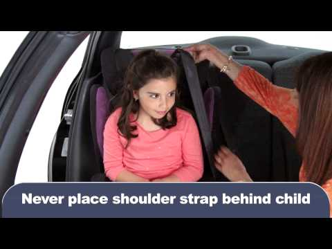 How to install a child booster seat