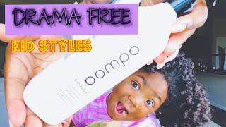 DRAMA FREE WASH DAY | KID STYLES | CURLY HAIR TUTORIAL