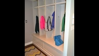 preview picture of video 'Organize Mudroom with Cubby Built In - Madison, NJ 07940 by Monk's Home Improvements'