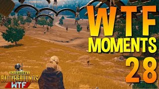 PUBG WTF Funny Moments Highlights Ep 28 (playerunknown's Battlegrounds Plays)