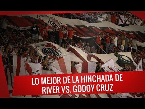 """""""River vs Godoy Cruz - Superliga 2017/18 - Lo mejor de la Hinchada"""" Barra: Los Borrachos del Tablón • Club: River Plate • País: Argentina"""