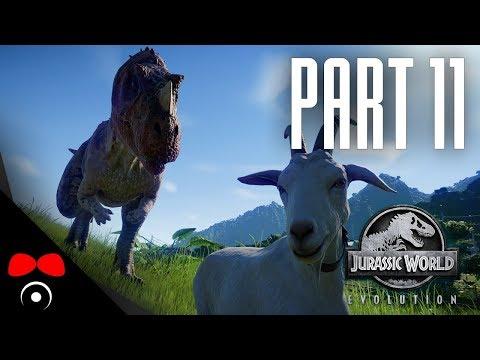 VŠICHNI DINOSAUŘI JSOU VENKU!   Jurassic World: Evolution #11