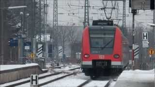 preview picture of video 'Neuaubing - Münchner S-Bahn - ⛄'