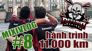 MixiVLOG #8: Hành trình dài hơn 11.000km của Refund Gaming tới Berlin Đức.