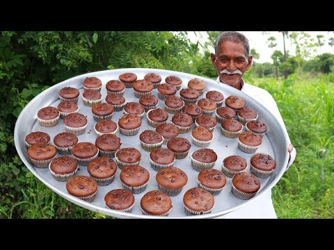 Chocolate Muffins Recipe | Chocolate Cupcakes with out oven By Our Grandpa