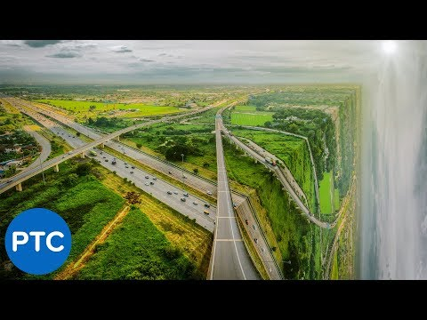 MIND-BLOWING Perspective-Bending Effect in Photoshop [EASY Photo Manipulation Tutorial]