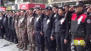 SAMSUN'DA TÜRK POLİS TEŞKİLATI'NIN 172. YILDÖNÜMÜ BÖYLE KUTLANDI