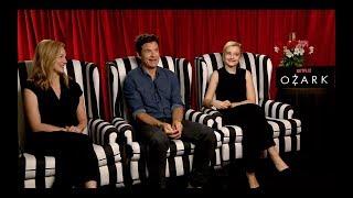 OZARK Interview: Jason Bateman, Laura Linney and Julia Garner
