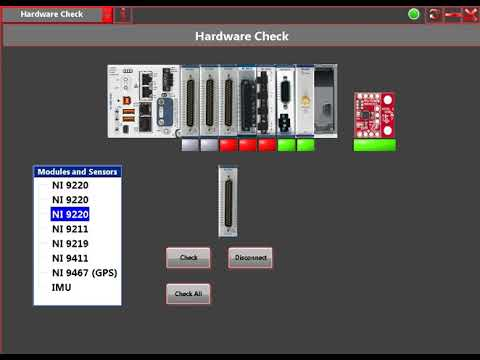 Industrial data logger software. Data recording.