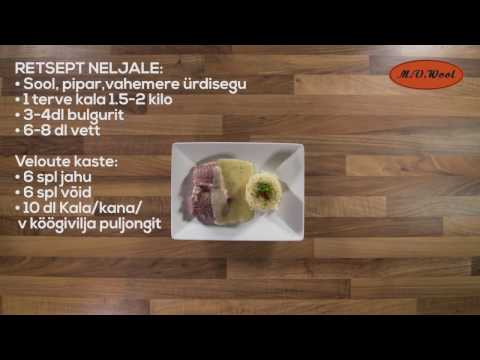 AURUTATUD ANGERSÄGA ÜRDI BULGURI JA VELOUTE KASTMEGA
