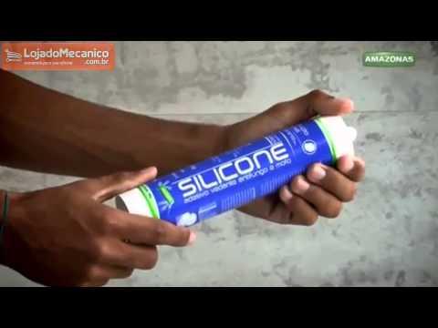 Silicone Acético 280g - Video