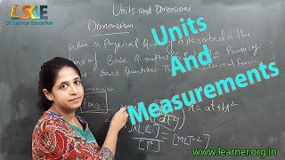 Units And Measurements | Online Physics Tutorial | Sk Learner Education | NEET|AIIMS | JEE | SKLE