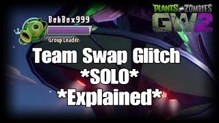 Plants vs Zombies GW2 *Explained* Team Swap Glitch *SOLO*