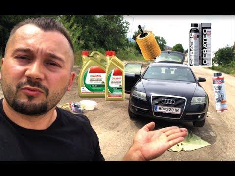 Audi A6 4F (C6) 2.0 TDI (103 kW) - Ölwechsel Tutorial / oil change