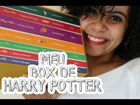 BOX TOUR: HARRY POTTER | VEDA #2 | Livraneios