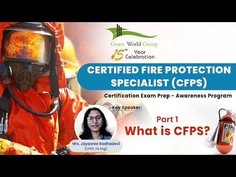 Part 1   Free Webinar On NFPA CFPS Exam Preparation   What is ...