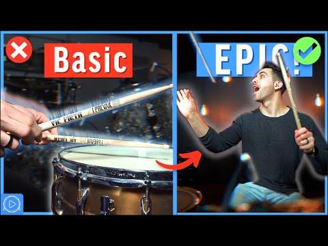 3 EPIC LICKS Every Drummer Should Know (Beginner to Advanced)