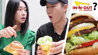 We Tried Korean Version Of In-N-Out