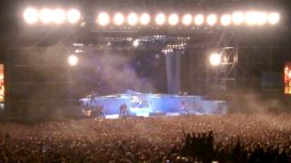 preview picture of video 'Run to the hills - Iron maiden - Bologna 2014, rock in Idro'