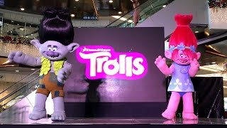 Trolls 2016 Movie Meet and Greet Event Poppy Branch