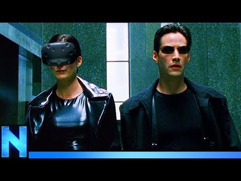 MATRIX LOBBY SCENE IN VR!
