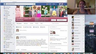 LuLaRoe Consultant Tech Talk: Leafy Peach vs WhatDidISell