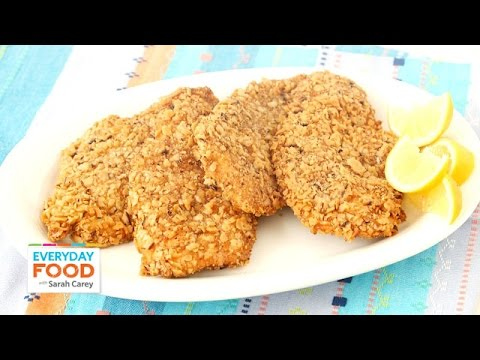 Matzo Crusted Chicken Cutlet Recipe – Everyday Food with Sarah Carey