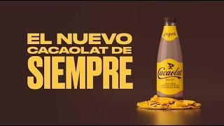 Cacaolat Nueva botella anuncio
