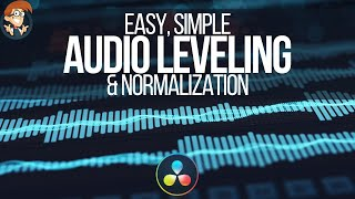 Audio Leveling & Normalization Basics in DaVinci Resolve 16