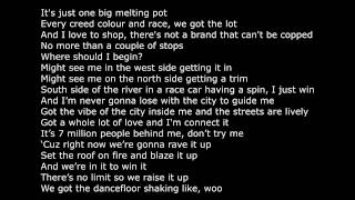 Dizzee Rascal Love This Town Lyrics