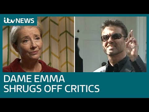 George Michael's hit song back as festive film as Dame Emma Thompson shrugs off critics | ITV News