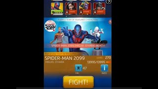 MPQ: Spider Man 2099 Shield Training, Tons Of Tokens, Howard The Duck Crash! Marvel Puzzle Quest