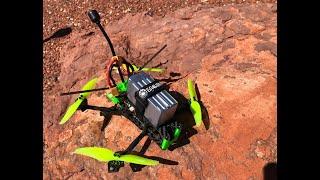 Sedona FPV Quad Flying