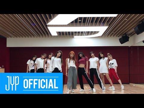 트와이스 (TWICE) - DANCE THE NIGHT AWAY 안무연습