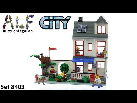 Vidéo LEGO City 8403 : La maison