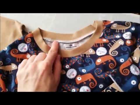 Videonávod: flatlock stitch, plochý šev, dekorativní šev - LEMY bez nože. Pfaff Hobbylock 2.5.