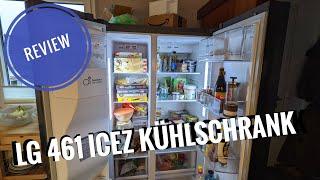 2 Monate mit dem LG 461 ICEZ Side-by-Side Kühlschrank Review