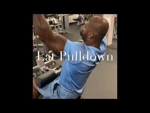 Lat Pulldown / Tricep Pushdown / Bicep Curl Demos