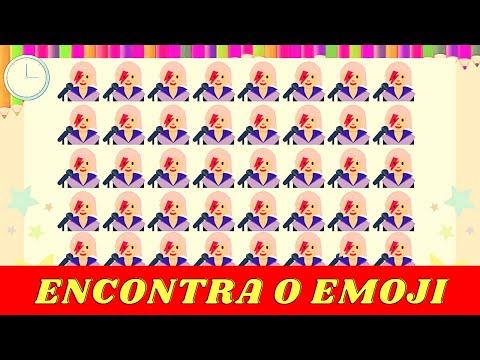 Encontra emoji - NOVO : Encontre o emoji diferente em 25 segundos