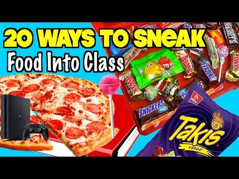 20 Clever Ways To Sneak Food and Candy Into Class Using School Supplies - NEVER FAILS | Nextraker