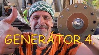 Mobilní vodní elektrárna 9. díl - generátor už generuje